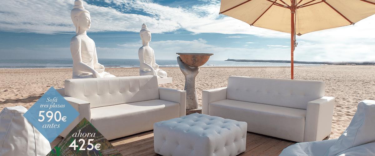 Muebles de terraza en promoción