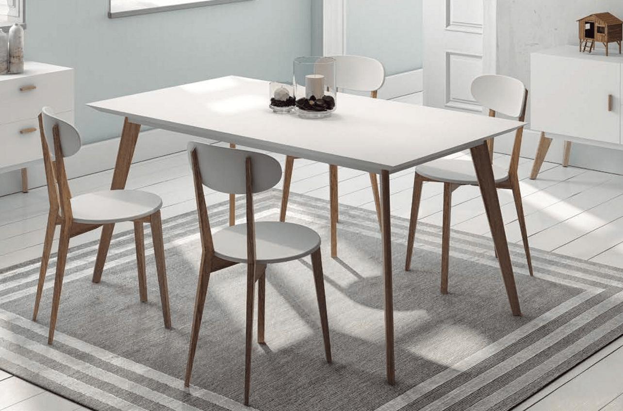 Pack mesa y sillas duch900 y dudt900 con mesa de dise o for Mesas y sillas diseno