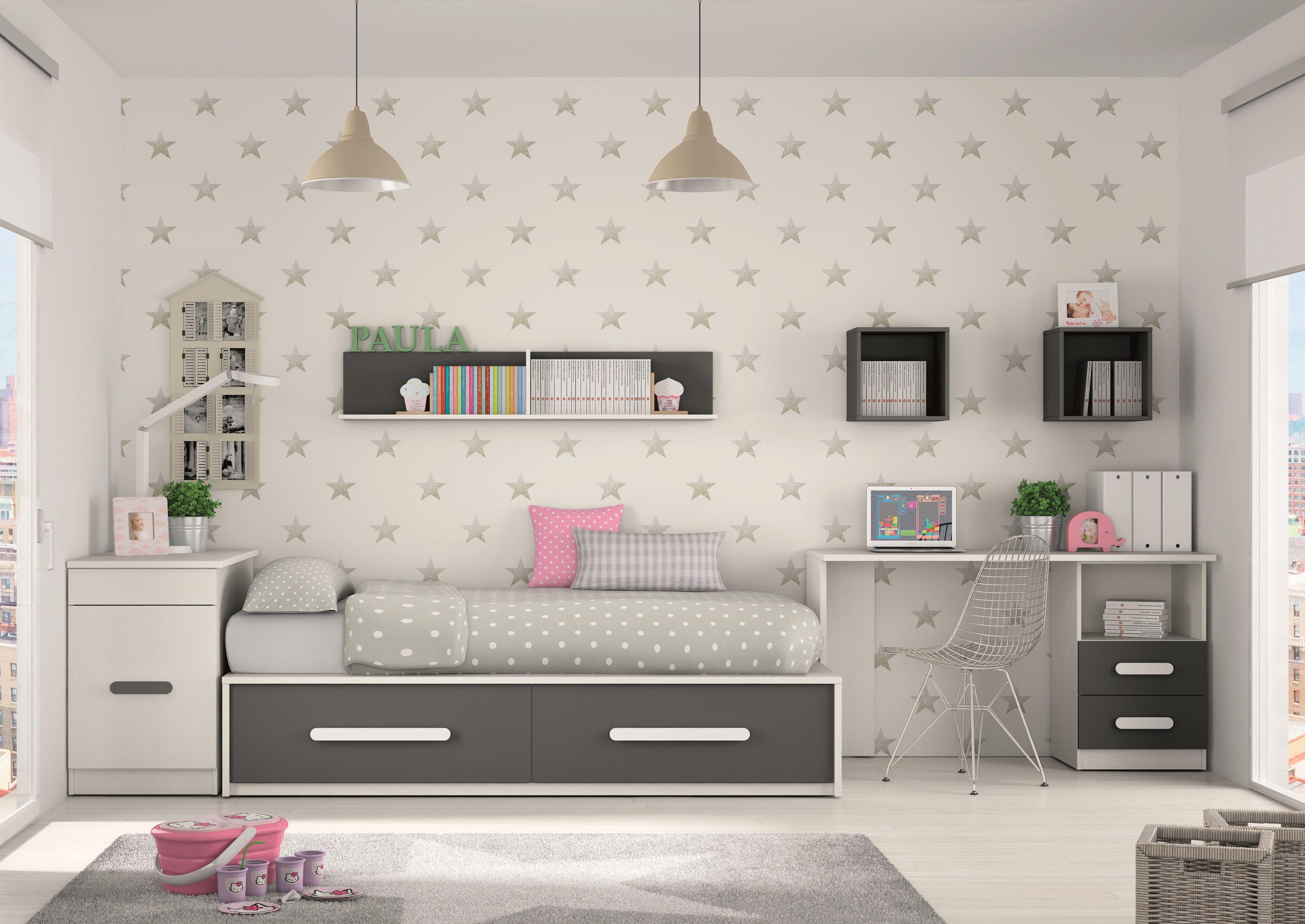 Muebles juveniles algunas ideas crea espai - Formas muebles juveniles ...