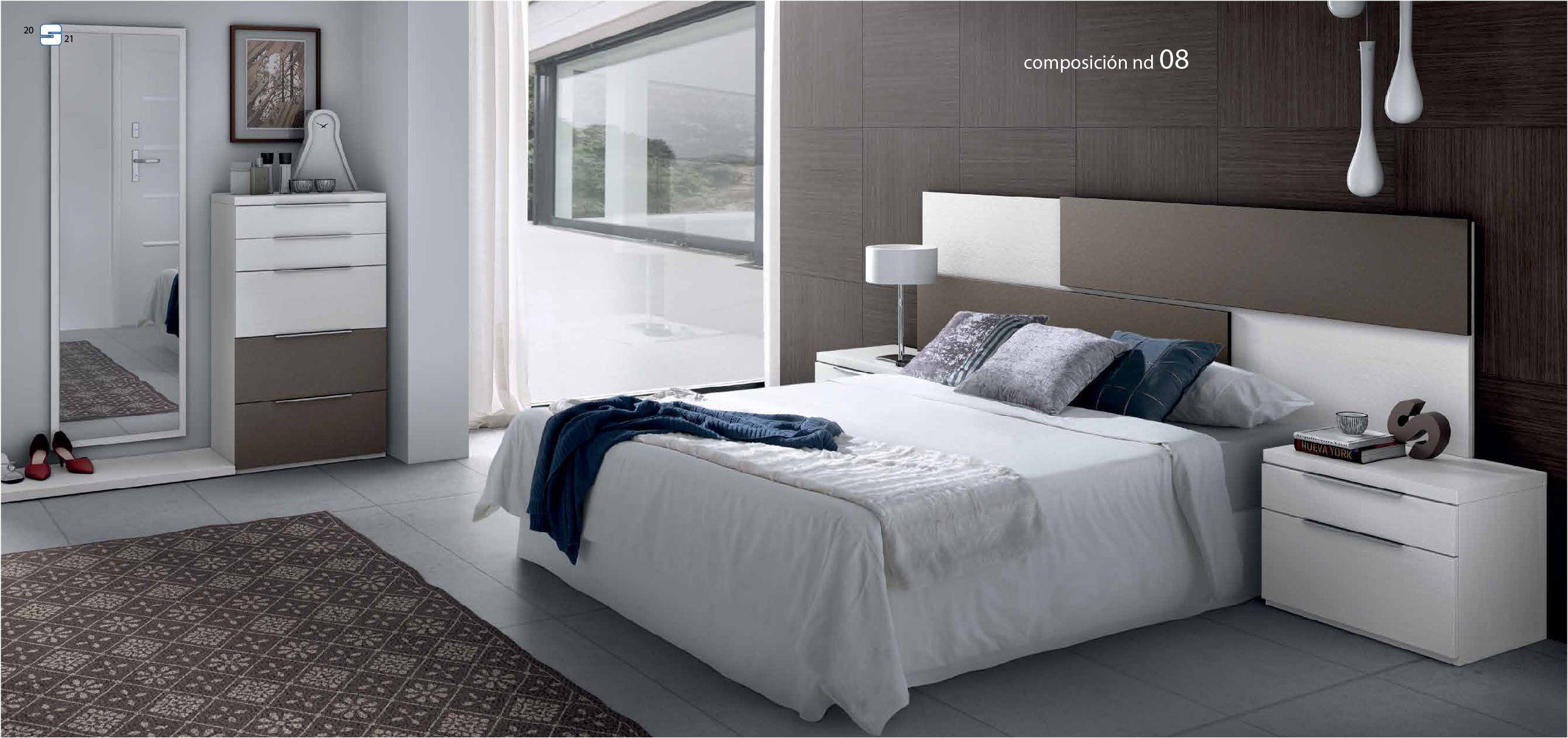 Habitaci n de invitados con estilo creaespai muebles for Mesillas de habitacion