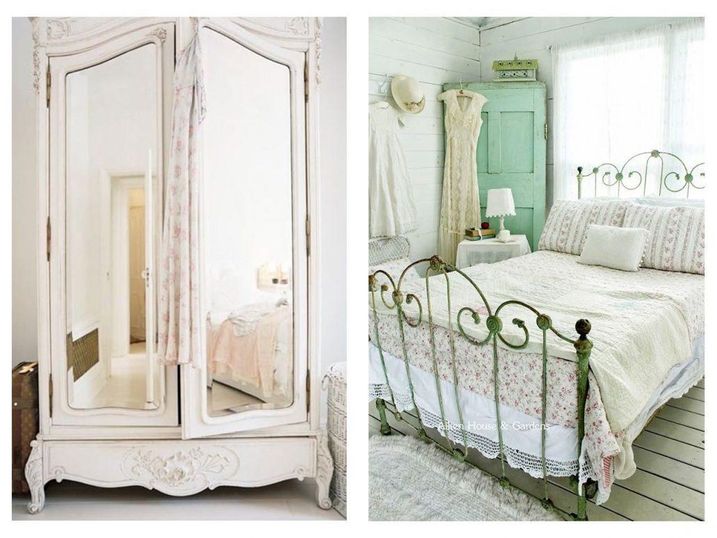Ideas para tener un dormitorio vintage for Muebles dormitorio vintage