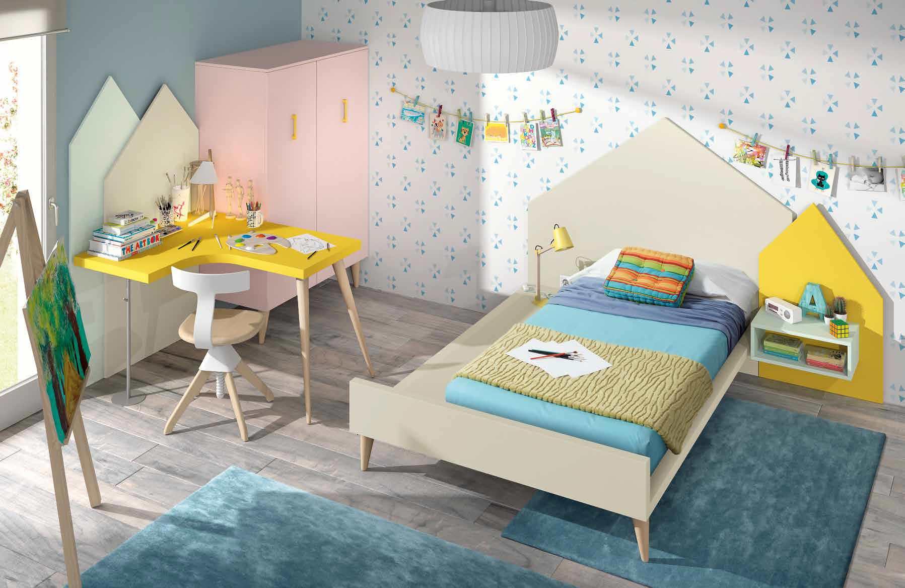 Ideas para dar color a tu dormitorio infantil - Ideas dormitorio infantil ...