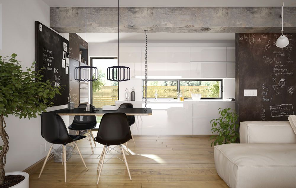 L mparas de comedor para todos los espacios crea espai for Lampara techo comedor