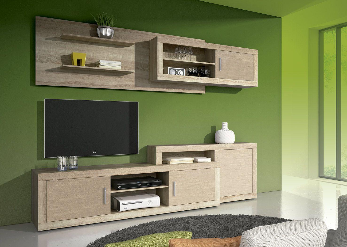 Muebles de yeso en la sala de estar modernos y lujosos - Muebles de sala ...