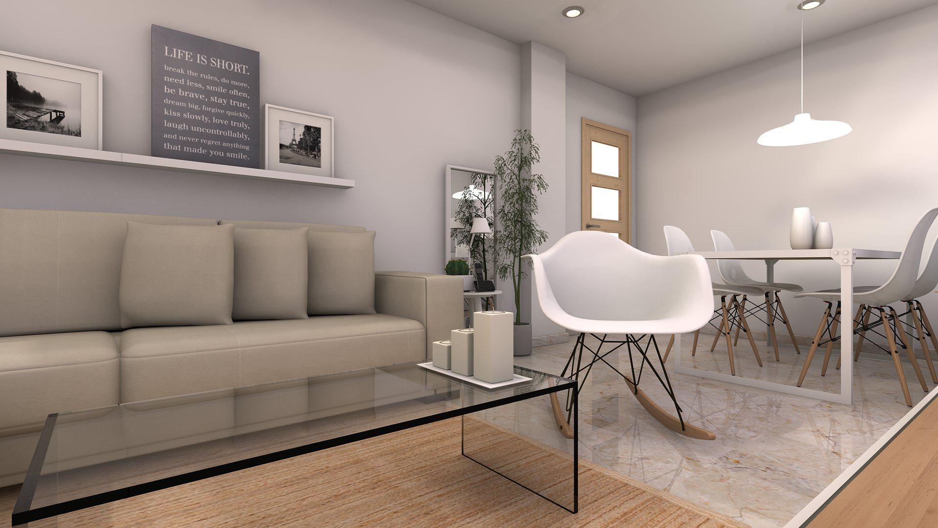 El sal n comedor c mo distribuirlo creaespai muebles - Interiorismo salon comedor ...